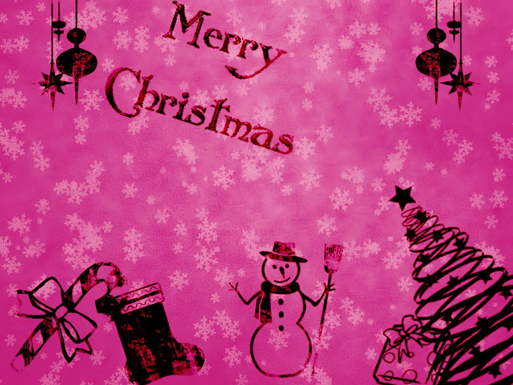 A Pink Christmas Wallpaper Christian Wallpapers And Backgrounds