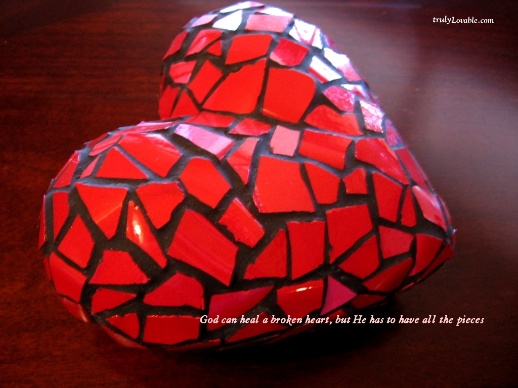 Broken Heart Wallpaper - Christian Wallpapers and Backgrounds