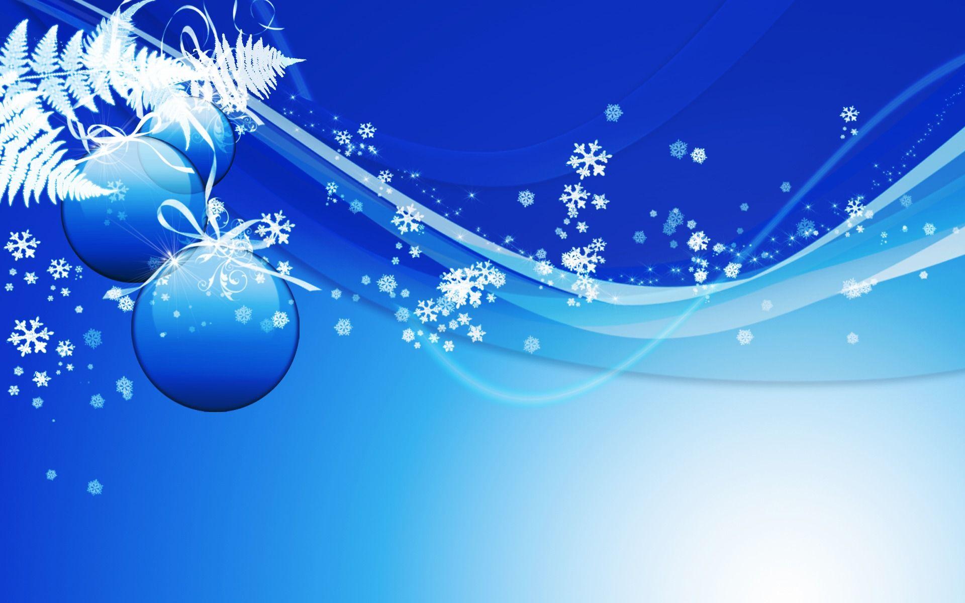 Christmas Ornament - Blue Wallpaper - Christian Wallpapers