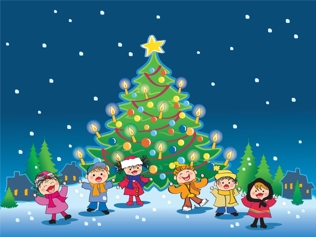 Christmas Song Wallpaper Background