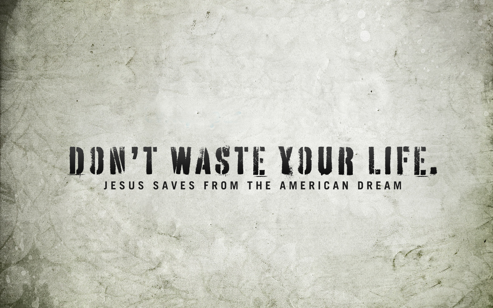 Dont Waste Your Life Hd Wallpaper Wallpapers Themes