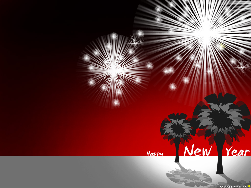 Happy New Year - Fireworks Wallpaper - Christian Wallpapers and ...