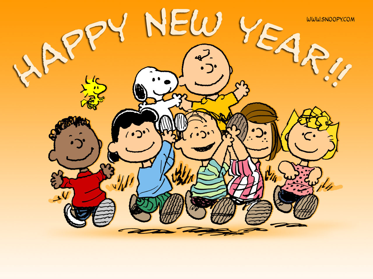Happy New Year Snoopy Wallpaper Christian Wallpapers And Backgrounds