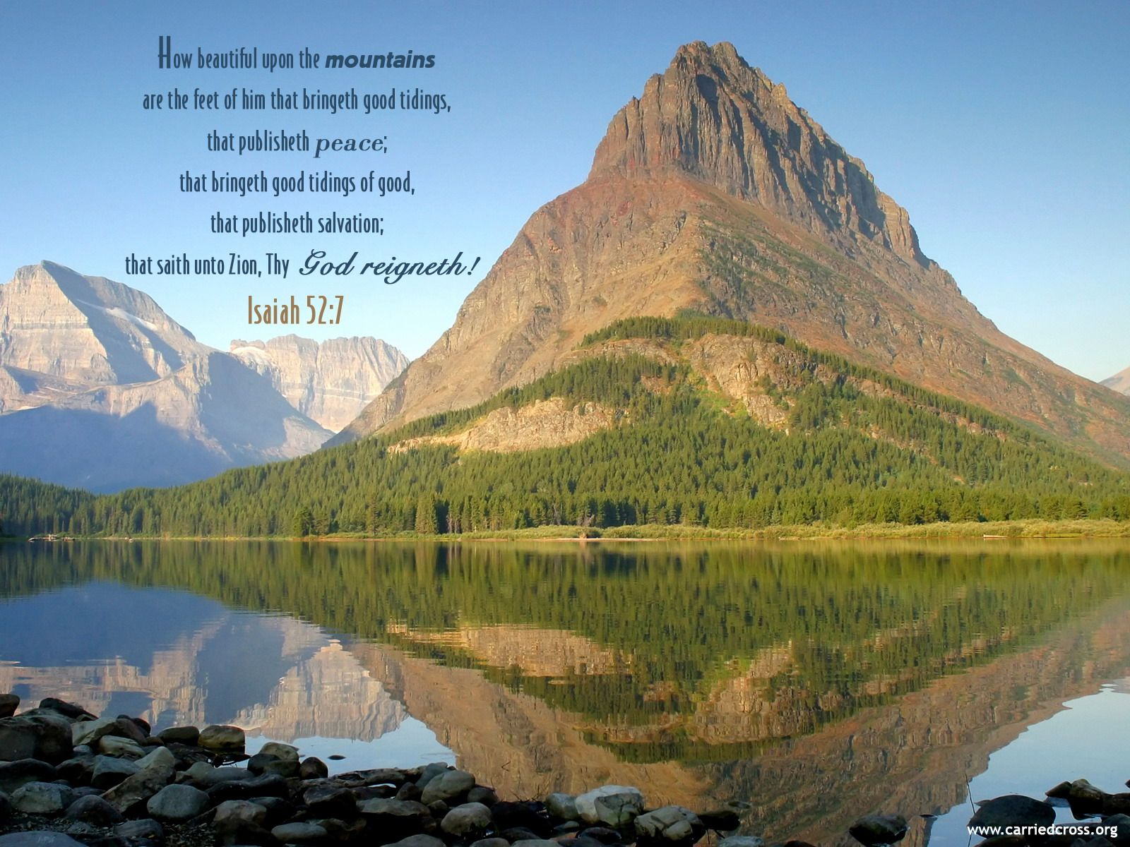 Image result for Isaiah 52: 7