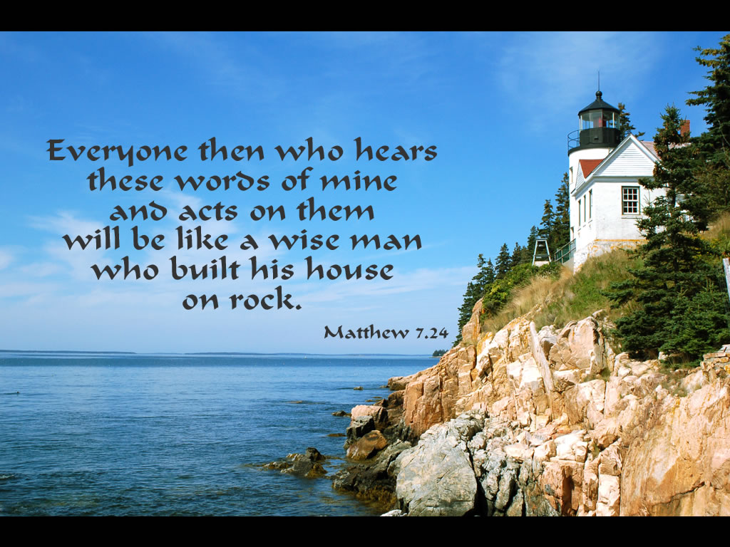 Matthew 7 24 wallpaper christian wallpapers and backgrounds for Build your house online