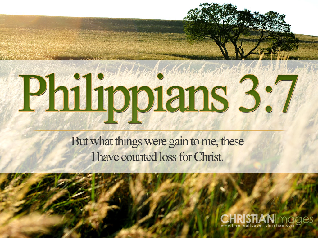 Philippians 3 7 Wallpaper Christian Wallpapers And