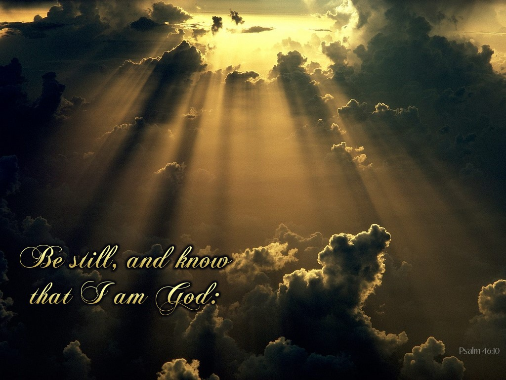 Psalm 4610 Wallpaper Christian Wallpapers And Backgrounds