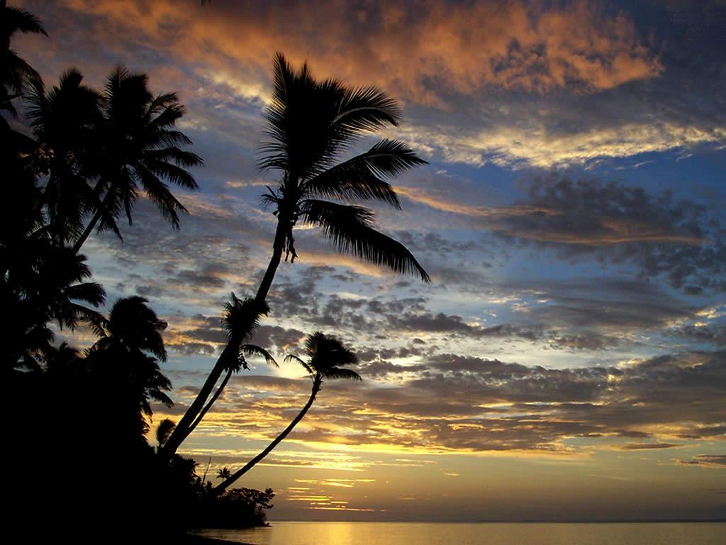 Sunset Fiji Wallpaper