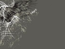 Freed by Grace christian wallpaper, christian background